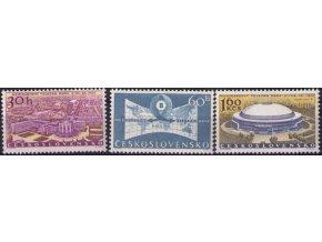 ČS 1959 / 1063-1065 / Medzinárodný veľtrh Brno **