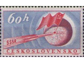 ČS 1959 / 1069 / Sov. raketa na Mesiaci **