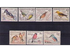 ČS 1959 / 1078-1084 / Vtáci **