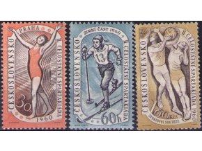 ČS 1960 / 1092-1094 / II. Spartakiáda **