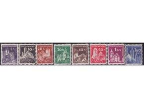 ČS 1960 / 1101-1108 / Hrady a zámky **