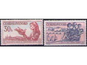 ČS 1117-1118 Čs. Červený kríž a Čs. požiarnici