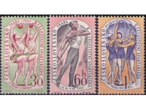 ČS 1960 / 1119-1121 / II. Spartakiáda **