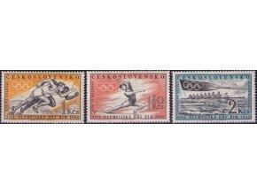 ČS 1960 / 1122-1124 / LOH Rím **