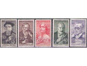 ČS 1960 / 1132-1136 / Kultúrne osobnosti **