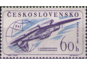 ČS 1960 / 1137 / MS v leteckej akrobacii **