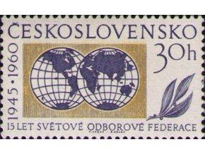 ČS 1960 / 1141 / Svetová odborová federácia **