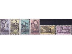 ČS 1960 / 1142-1147 / Vodné vtáctvo **