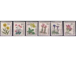 ČS 1960 / 1148-1153 / Kvety **