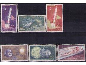 ČS 1961 / 1165-1170 / Výskum vesmíru **