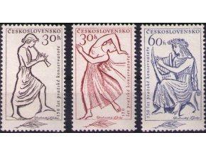ČS 1961 / 1179-1181 / 150 r. Pražského konzervatória **