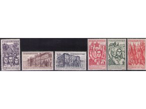 ČS 1961 / 1183-1188 / 40. výročie KSČ **