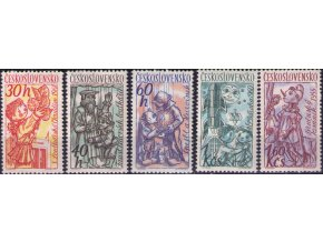 ČS 1961 / 1189-1193 / Čs. bábky **