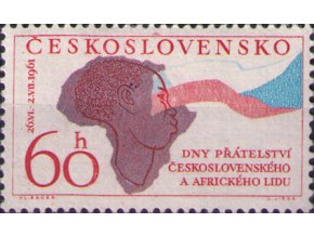 ČS 1961 / 1194 / Dni priateľstva s africkým ľudom **