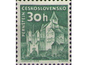 ČS 1961 / 1205 / Pernštejn (s priesvitkou) **