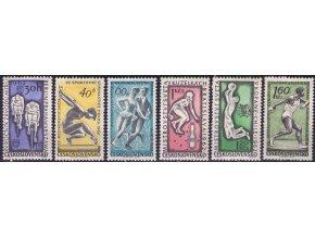 ČS 1962 / 1227-1232 / Šport **