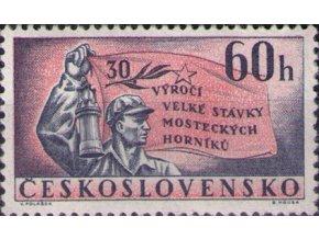 ČS 1962 / 1240 / 30. výr. mosteckého štrajku **