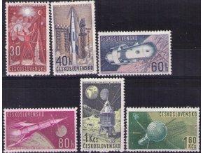 ČS 1962 / 1241 1246 / Výskum vesmíru **