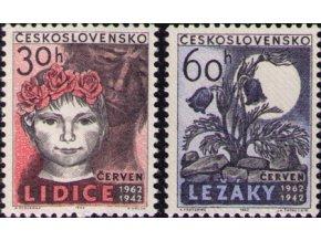 ČS 1962 / 1253-1254 / Lidice a Ležáky **