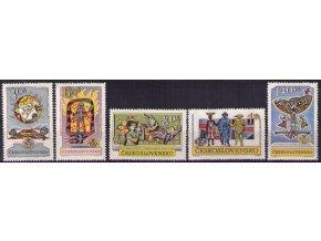 ČS 1962 / 1263-1267 / Praga 62 **