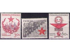 ČS 1963 / 1291-1293 / Výročie Februára **