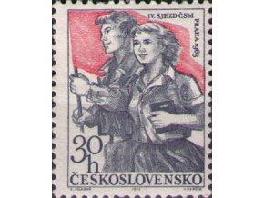 ČS 1301 IV. zjazd ČSM