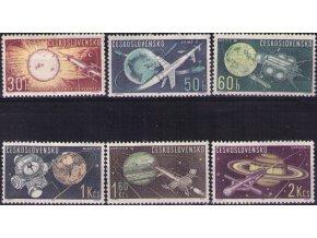 ČS 1963 / 1302-1307 / Výskum vesmíru **