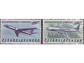 ČS 1963 / 1313-1314 / 40. výročie ČSA **