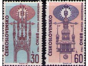 ČS 1963 / 1322-1323 / Veľtrh Brno **