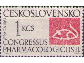 ČS 1963 / 1329 / Farmakologický kongres **