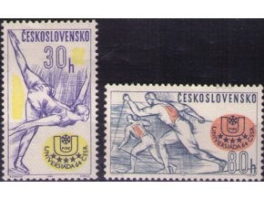ČS 1964 / 1356- 1357 / Zimná univerziáda **
