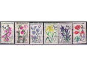 ČS 1964 / 1377-1382 / Kvetiny **
