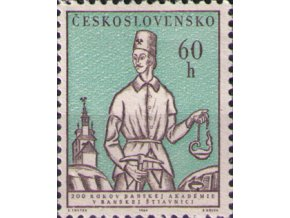 ČS 1384 200 rokov Banskej akadémie
