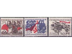 ČS 1964 / 1389-1391 / 20. výročie SNP a bojov o Duklu **