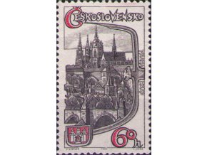 ČS 1964 / 1392 / Pražský hrad **