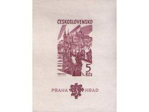ČS 1393 H Pražský hrad