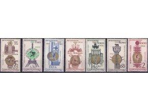 ČS 1965 / 1428-1434 / Čs. olympijské víťazstvá **