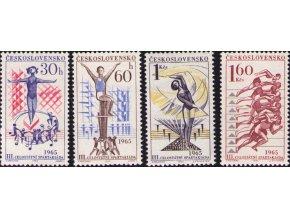 ČS 1444-1447 III. celoštátna spartakiáda