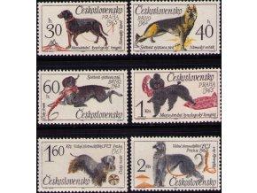 ČS 1448-1453 Svetová výstava psov