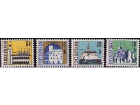 ČS 1965 / 1480-1483 / Mestá I. (výplatné) **