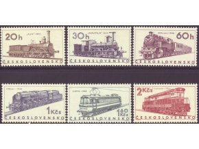 ČS 1966 / 1509-1514 / Lokomotívy **