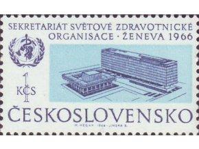 ČS 1966 / 1516 / Svetová zdravotnícka org. WHO **