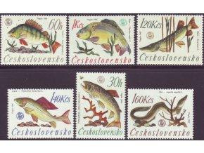 ČS 1966 / 1517-1522 / MS v rybolove **