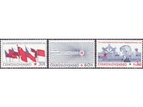 ČS 1966 / 1532-1534 / XIII. zjazd KSČ **