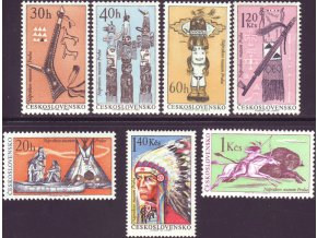 ČS 1535-1541 Indiáni Severnej Ameriky