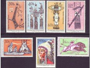 ČS 1966 / 1535-1541 / Indiáni Severnej Ameriky **