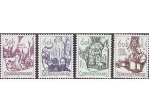 ČS 1966 / 1544-1547 / Pamätné miesta **