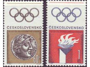 ČS 1966 / 1550-1551 / Čs. olympijský výbor **
