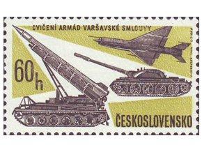 ČS 1966 / 1552 / Armáda Varšavskej zmluvy **