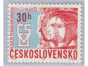 ČS 1967 / 1580 / V. zjazd ČSM **